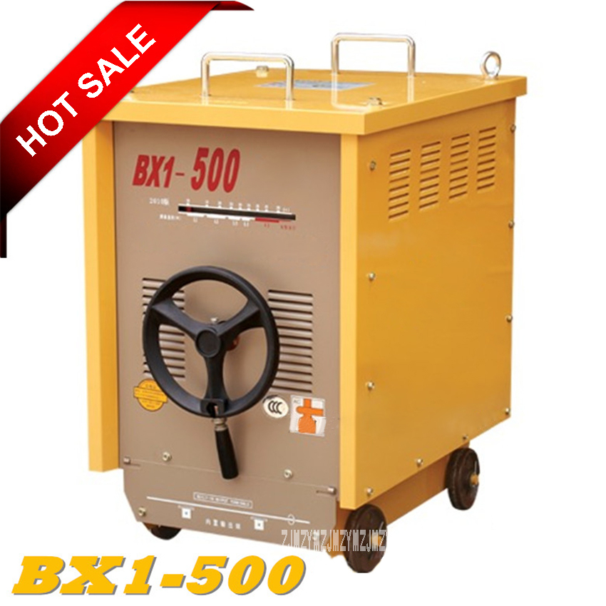 Neue BX1-500 Elektrische Schweißer Industrie Grade Schweißen Ausrüstung Single-phase 380 V AC Arc Schweißen Maschine 50/60 hz 38KW 35% 95-500A