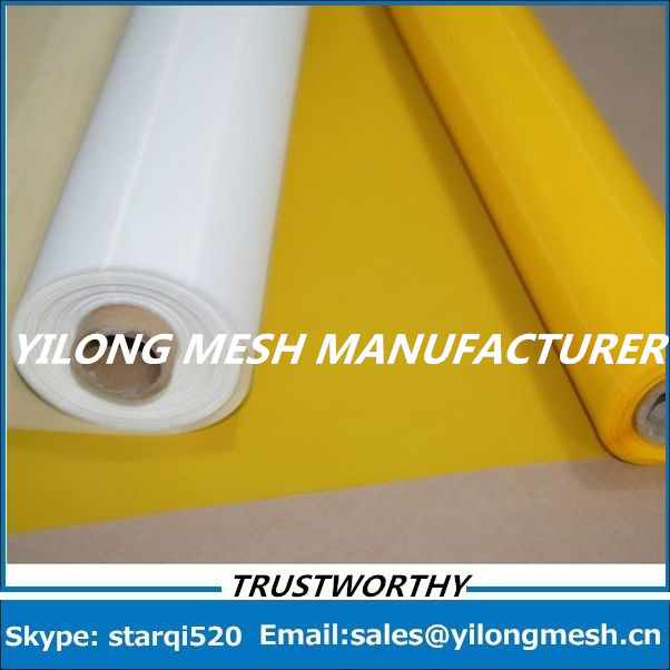 Free Shipping!!! 122mesh 15 Meters 48T -165cm White Monofilament Polyester T-Shirt Screen Printing Mesh