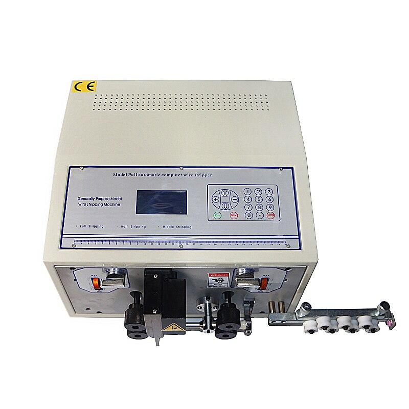 SWT508E автоматическая прокладка машина для зачистки проводов компьютер полоса проволоки машина шкуры резки проволоки 0,1 до 8 мм