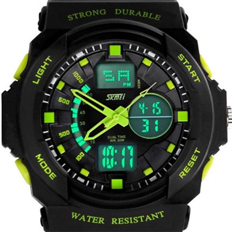 Sports Watches Skmei Led Digital Stop Quartz Army Men Fashion Brand Casual Male Luxury