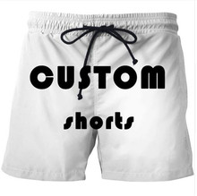 Drop shipping Customize 3D Printed Beach Short for Men Fashion Cool Sportwear Pants Women Unisex