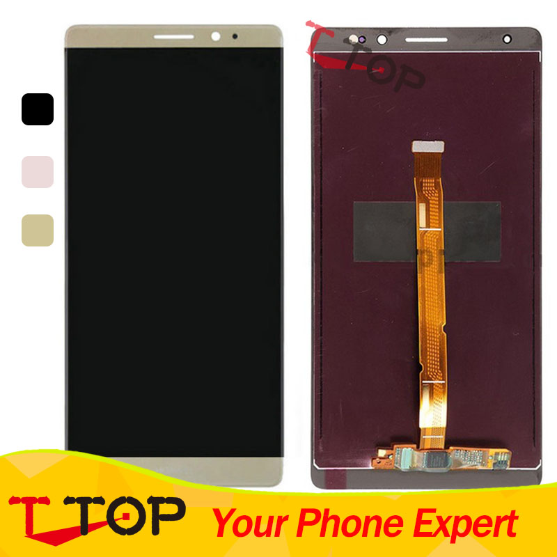 LCD Display For Huawei Mate 8 Mate8 LCD Screen Display and Touch Screen Panel Glass Sensor Assembly Without Frame 1PC/Lot перчатки yu 6017