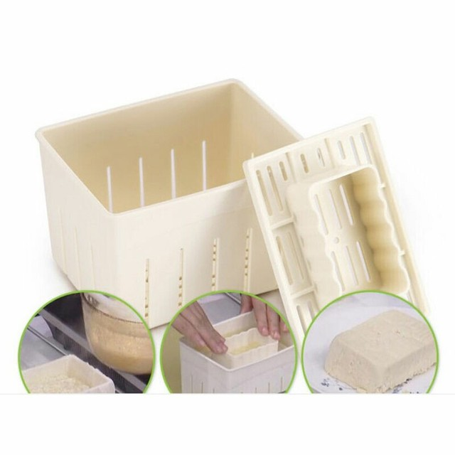Tofu Making Machine Set Diy Plastic Homemade Maker Press Mold Kit Soy Pressing Mould With Cheese Cloth Ustensile Cuisine In Cooking Tool Sets From Home