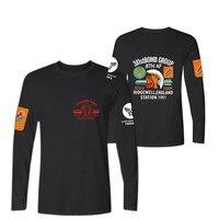 LUCKYFRIDAYF Summer Tide Tshirt West Coast Punk Skull Print Motorcycle Tattoo Half Sleeve Hip Hop Mens