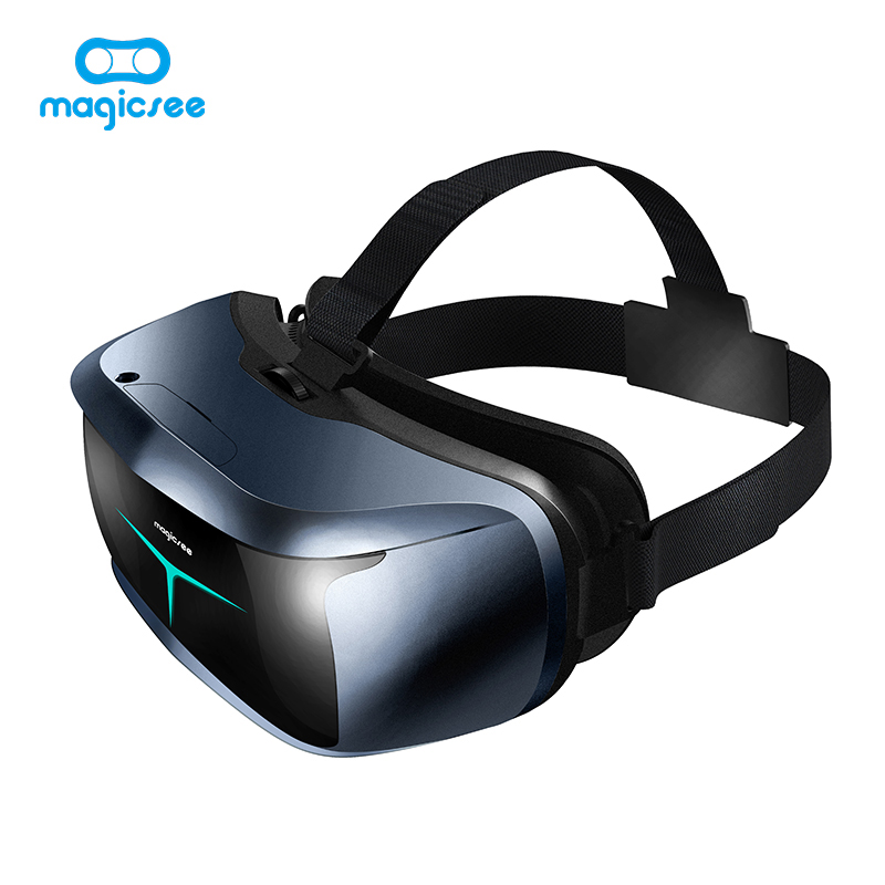Magicsee M2 3D Glasses All in one VR Glasses FOV90 Android 5.1 Virtual Reality Quad-core 5.5inch VR for 3D Game Movie can adjust vrmira i fov90 rk3126 andriod6 0 all in one vr virtual reality headset
