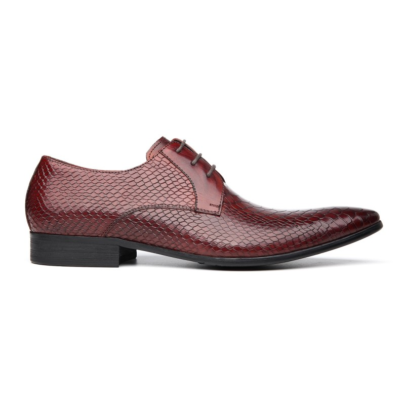 Homens Outono Black red Bloco Ayakkabi Britânico Dos Rendas Sapatos Nova Casamento Calcanhar Toe Sapato Vermelho Preto Robusto Apontou Formal Masculino Até Calçado Chegada xt1FwBt