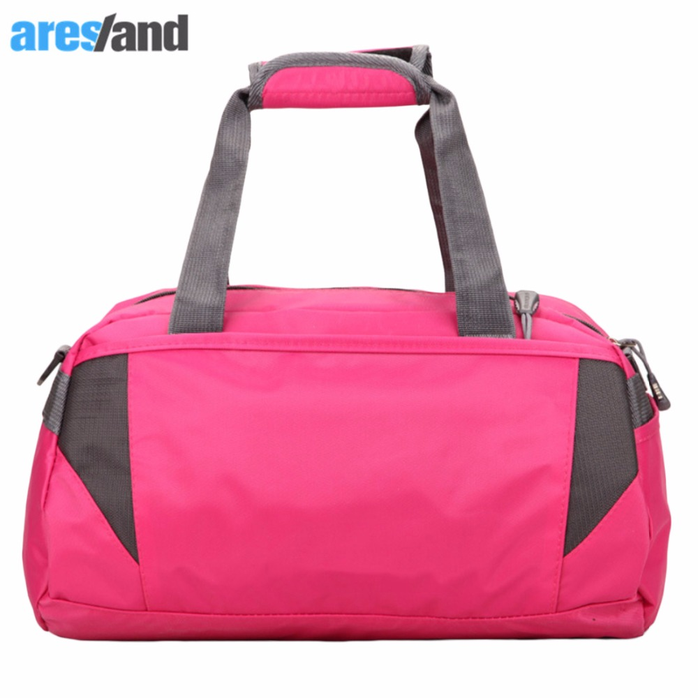 40L Large Capacity font b Fitness b font Outdoor Gym Sports Bag Tote Handbag Duffel Shoulder