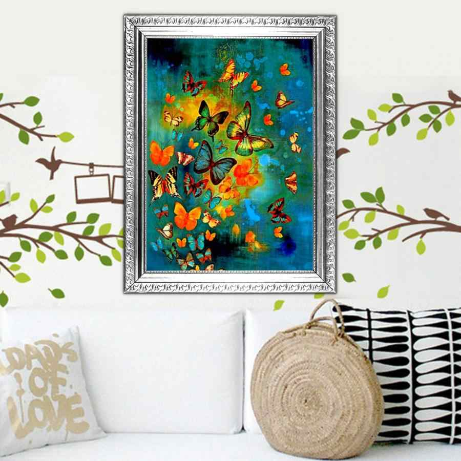 High Quality Beautiful DIY Handmade Rhinestone Embroidery Painting Cross Stitch Craft Kit for Clearance Sale Home Wall Decor