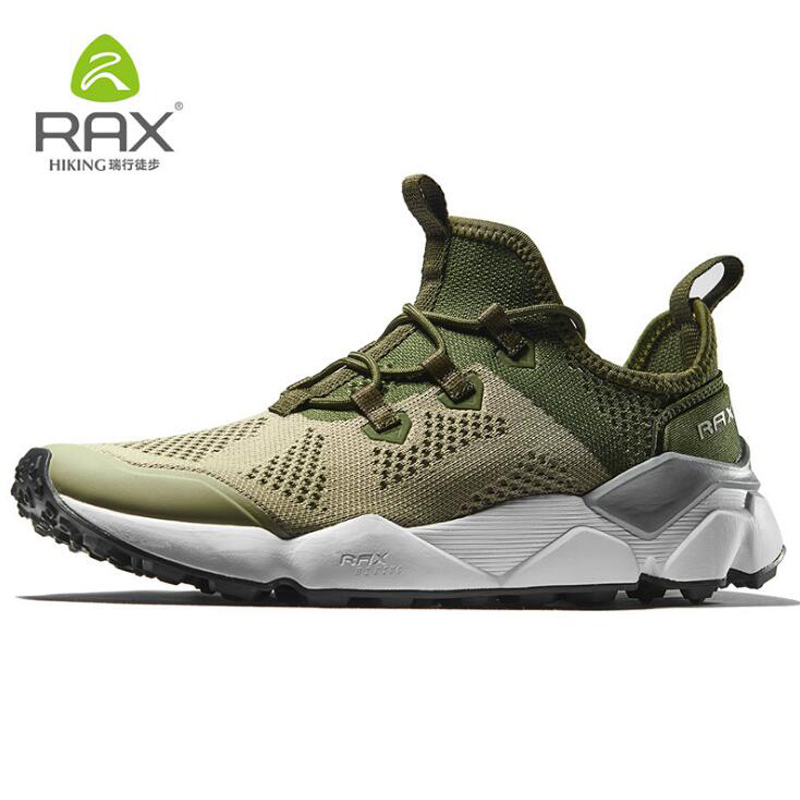 Rax Men Professional Hiking Shoes Breathable Trekking Boots Original Outdoor Sport Sneaker For Man Camping Climbing Shoes 39-46 rax camping