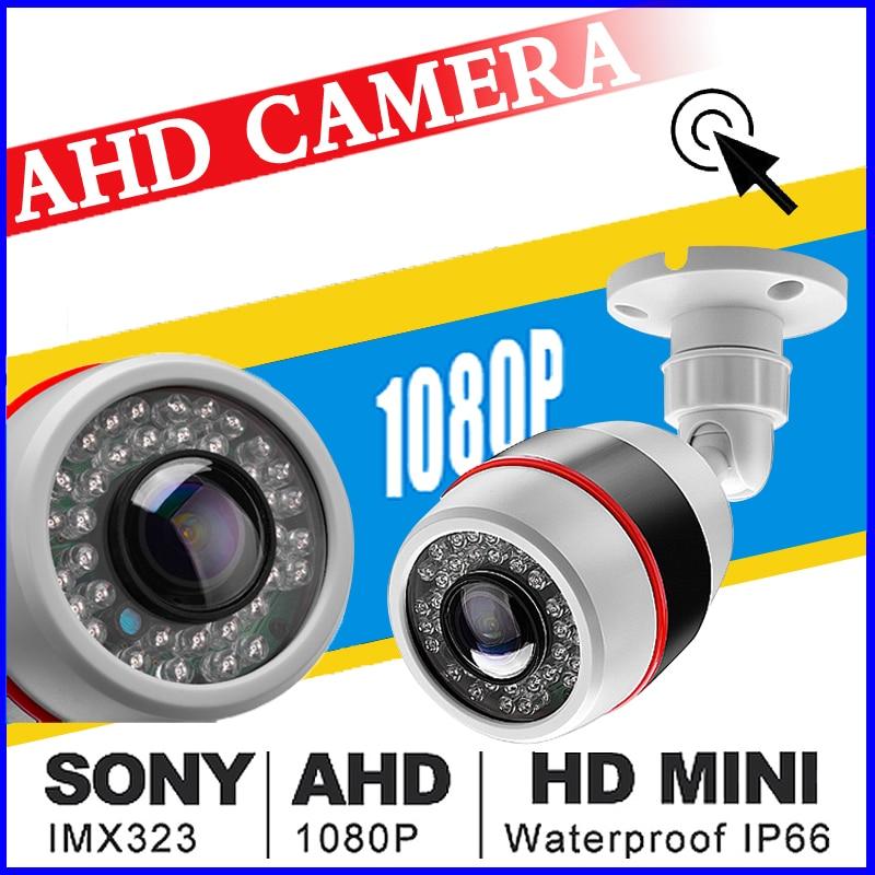 720P 960P 1080P 1MP 2MP AHD CCTV CAMERA 1.7MM Fisheye Lens 180Degree Panoramic Night Vision Waterproof Outdoor Bullet Camera