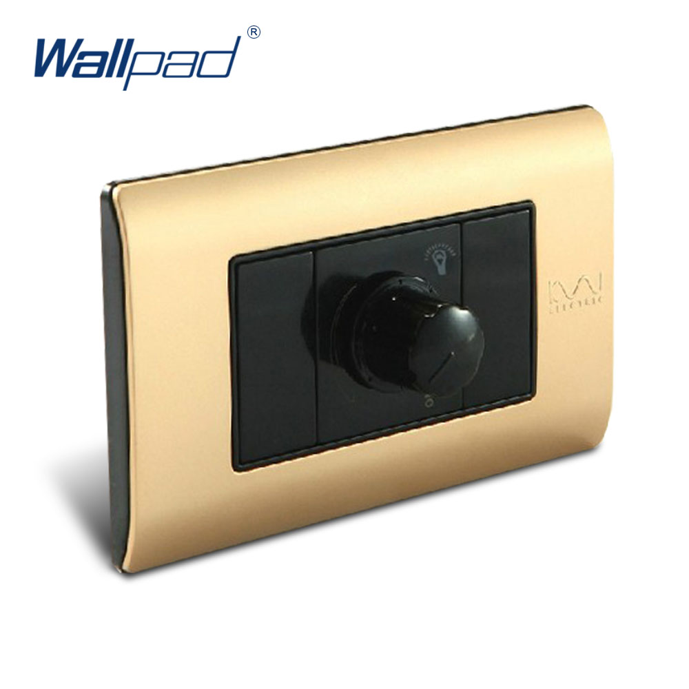 , Wallpad Luxury Wall Switch Panel, Dimmer C5-Series, 118*72mm, 10A, 110~250V