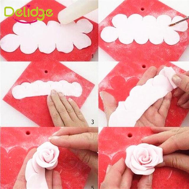 Rose Flower Cake Mold