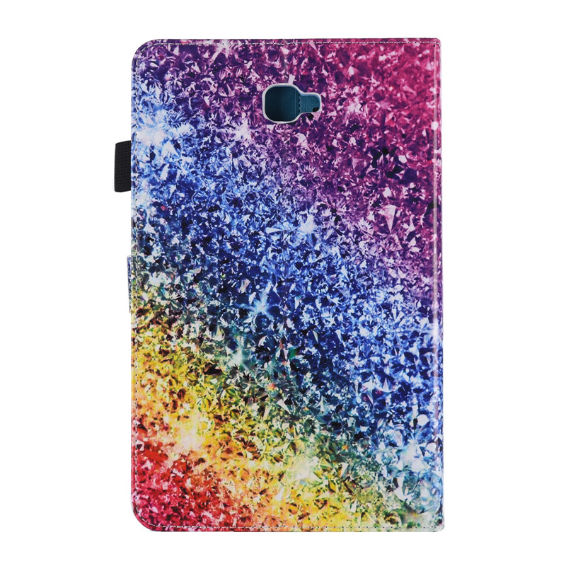 Tablet Case for fundas Samsung Galaxy Tab A 10.1 2016 T580 Cover for coque Samsung Galaxy Tab A 10.1 T580 T585 Case with Stand