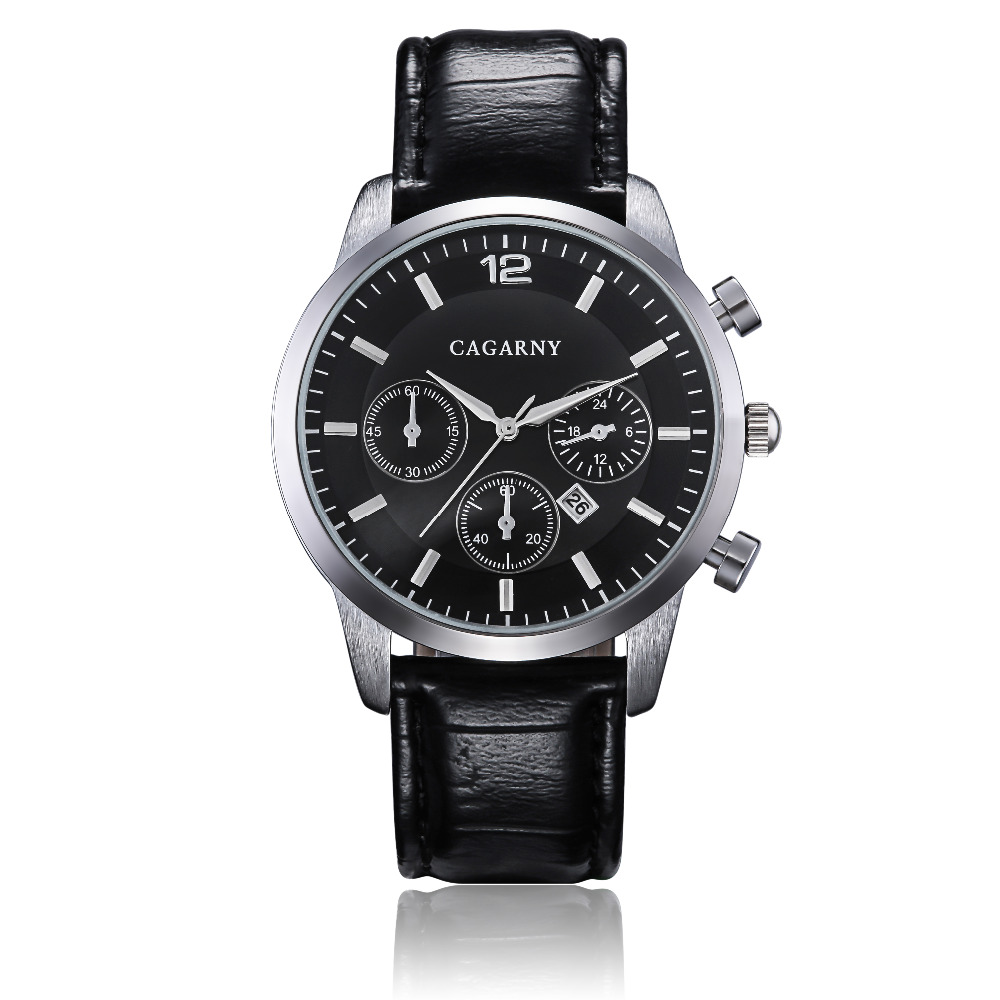 Hot Fashion Horloges Super Man Top Luxe Merk Cagarny Horloges Mannen - Herenhorloges - Foto 3