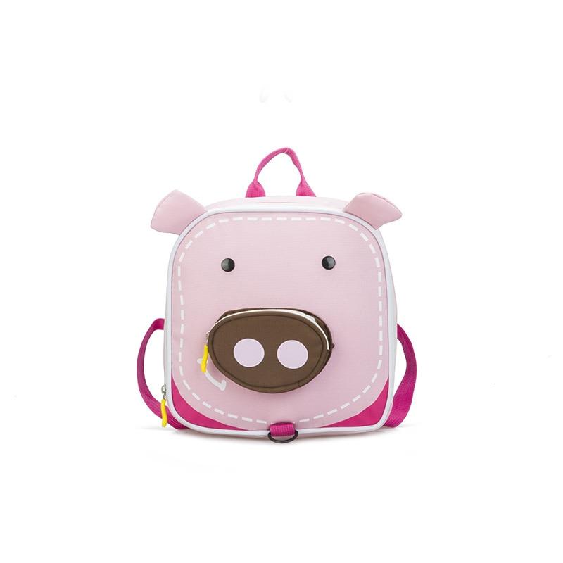 2019 Summer Toddler Kids Backpack Cute 3D Animal Shape Pre School Bag For Book Children School Backpack for Boys Girls