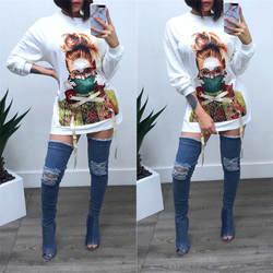 Женская модная одежда в африканском стиле, распродажа, полиэстер, 2019, с принтом, с длинными рукавами, новая, модная, африканская, женская