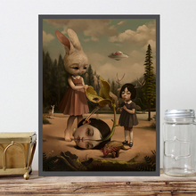 Roby Dwi Antono Pop Surrealism Canvas Painting Print Bedroom Home Decor Modern Wall Art Oil Painting Poster Picture Framework HD все цены