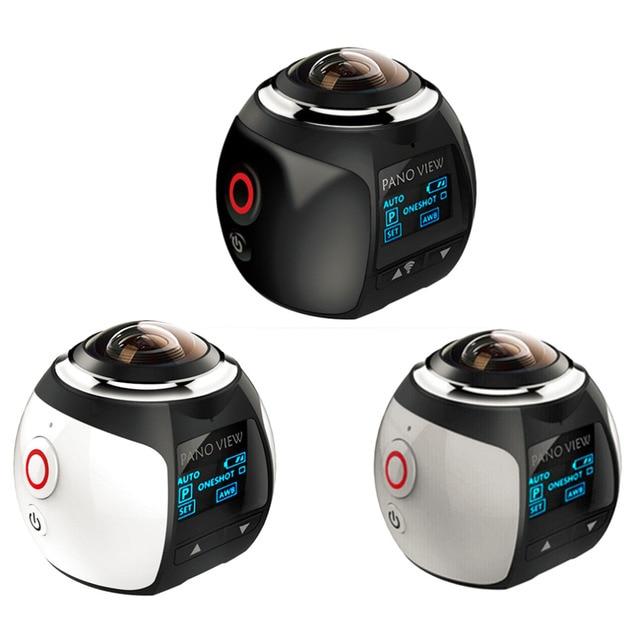 Top Quality 360 Action Camera Wifi Mini Panoramic Camera Ultra HD Panorama Camera 360 Degree Waterproof Sport Driving VR Camera