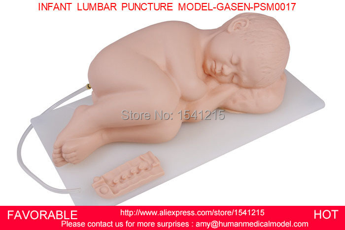 ADVANCED INFANT LUMBAR PUNCTURE SIMULATOR MODEL, NEONATAL LUMBAR PUNCTURE MODEL,INFANT LUMBAR PUNCTURE MODEL-GASEN-PSM0017 infant artery puncture arm simulator infant arteriopuncture training arm infant arterial puncture arm gasen psm0015