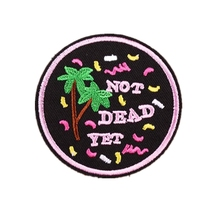 Custom Embroidered Patch Sew Iron Welcom to customize your own patch DIY