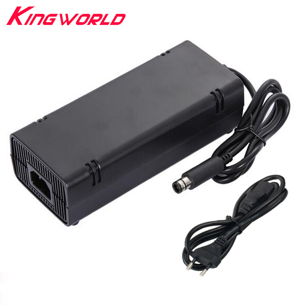 100% Brand new EU Plug Charger Power AC Adapter Supply Cable For xbox360 E Xbox 360 E цена