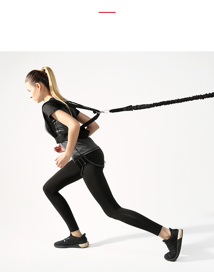 cabo trainer conjunto para fitness alongamento corrida