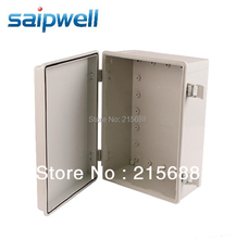 NEW SAIPWELL WATERPROOF OUTLET BOX  250*360*150MM IP66 HIGH QUALITY HINGE TYPE BUCKLE ANTI TANK type SP-MG-253615