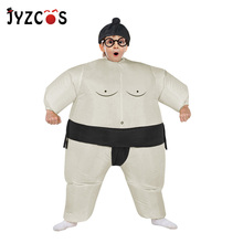 Fan Operated Inflatable Sumo Costume Suit Outfits Halloween for Kids Party Christmas Gift