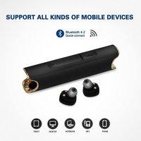 Underwater Headphone S2 IPX7 Waterproof Earphone Bass Bluetooth 4.2 CSR Mini Earbuds Handsfree 850mAh Charging Box
