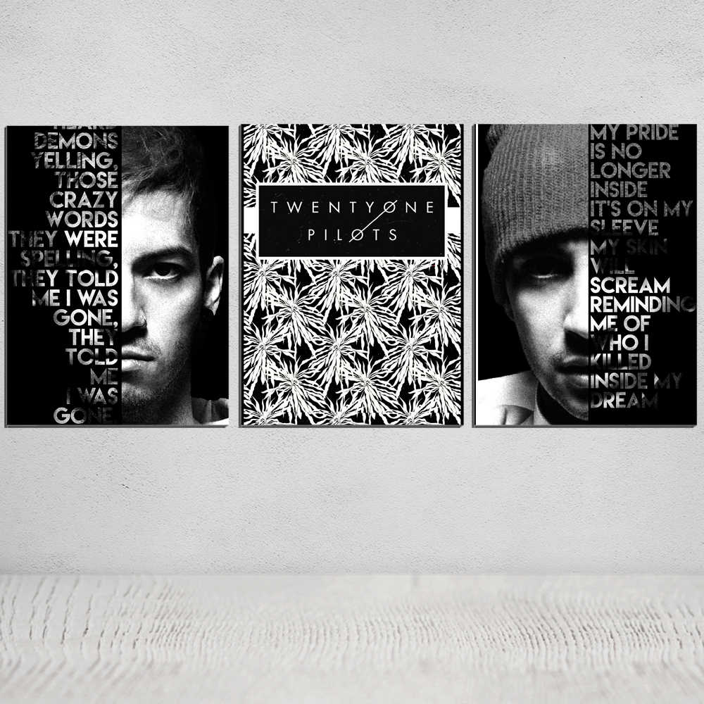Twenty one pilots Canvas painting posters and prints art best place to print art prints photo canvas best giclee printer giclee