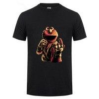 New Design Cookie Monster Shirt Cotton Tshirt Men T Shirt MMA T Shirt Monster Fighter Tee