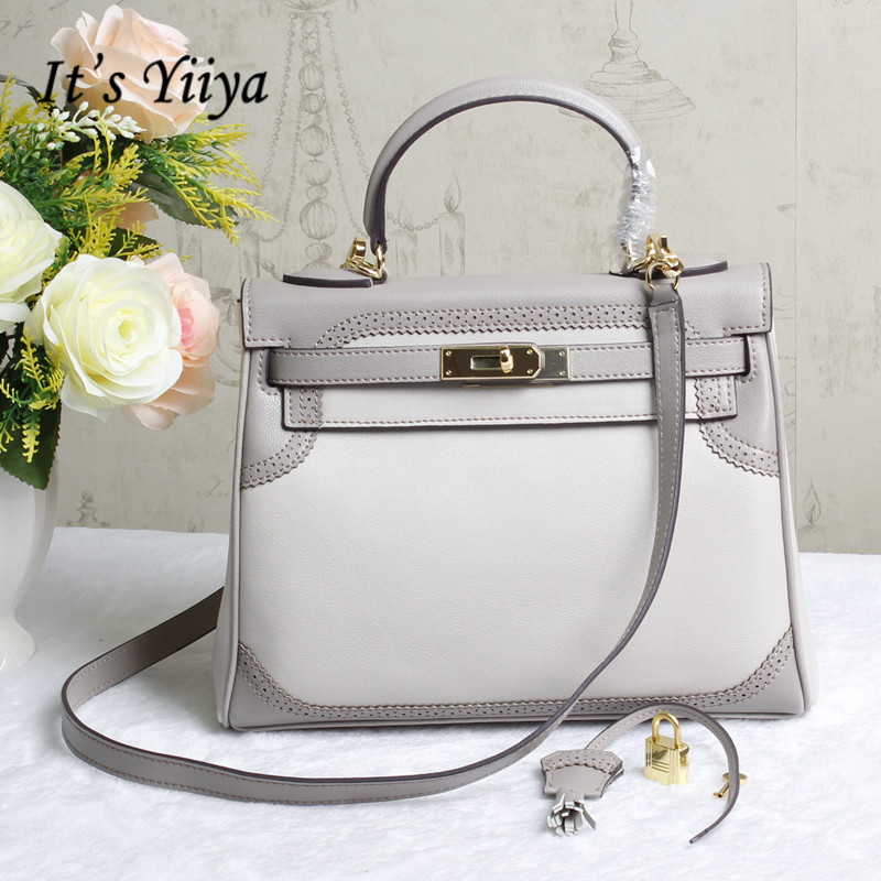 It's YiiYa Popular Gray Pink Women HandBag Casual Fashion Hangbags Simple Messenger Bags With Interior Zipper Pocket SS382 игрушка ecx ruckus gray blue ecx00013t1