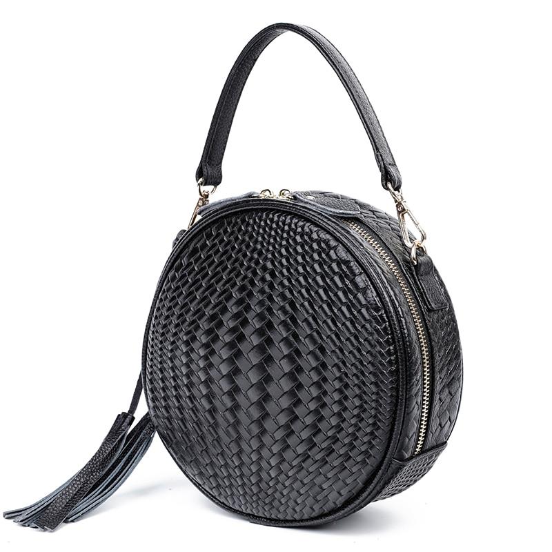 100% Echtem Leder Frauen Umhängetasche Handtasche Berühmte Marke Weibliche Schulter Tasche Leder Umhängetasche Für Frauen 2019 Neue