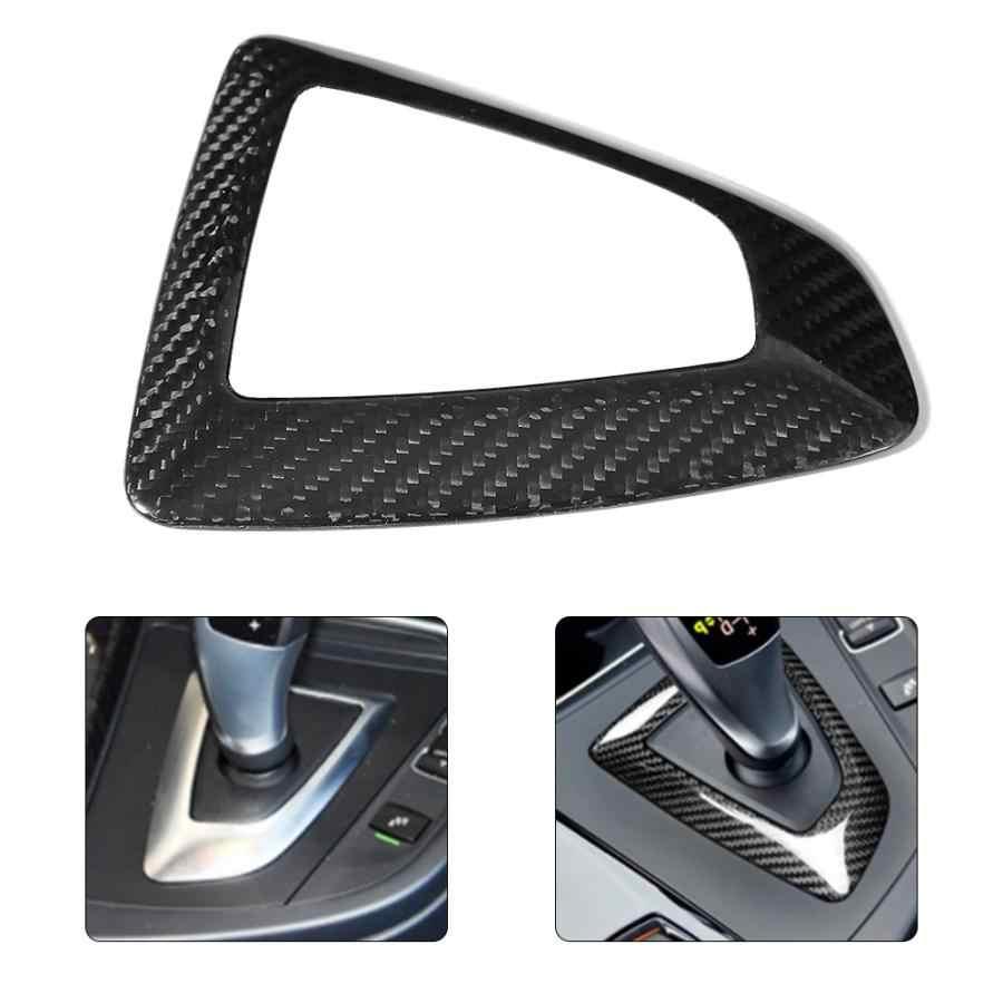 Углеродного волокна ручка переключения рулевого механизма автомобиля крышка отделка каркаса Аксессуар подходит для 1/2/3/4 серии F30 F32 F10 X3 F25 X4 F26 X5