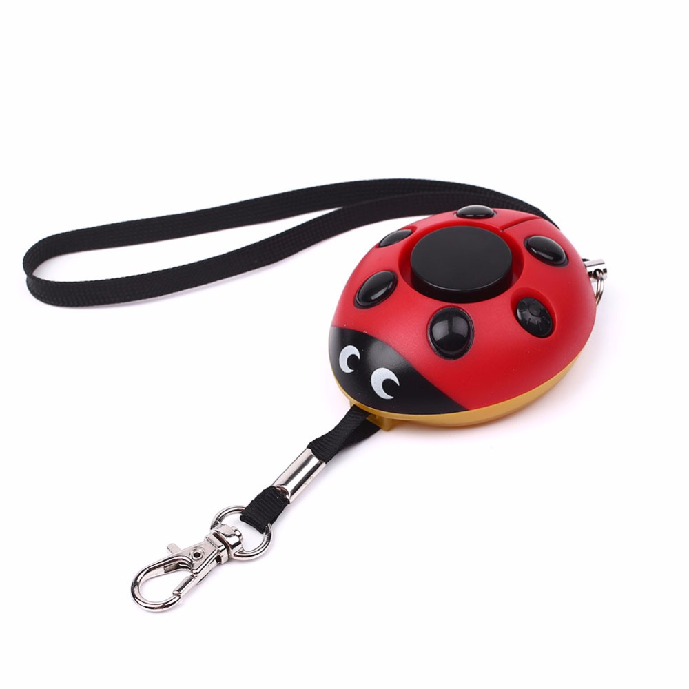 Women Voice Self Defense Alarm Flash Light Portable Self Defense Keychain Durable Amergency SOS Self Defense Supplies