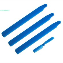 Upgrade Blade Set for WLtoys V931 XK K123 RC helicopter Blue 66