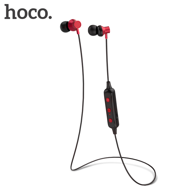 HOCO Wireless Bluetooth Earphone IPX7 waterproof Headphone Bluetooth V4.1 JL Hands-free A2DP Avrcp With MIC Earpiece Sport Calls цена и фото