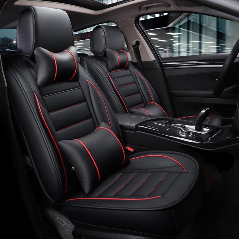 Housse de siège auto couvre sièges en cuir pour grande muraille haval h2 h5 h6 h9 hover h3 h5 geely boyue emgrand x7 geeli emgrand ec7