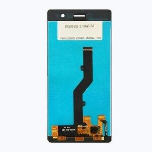 Image 2 - Zte bladeためA603 lcdディスプレイタッチスクリーンデジタイザアセンブリのためのzte blade A603 603 交換電話部品修理キットツール