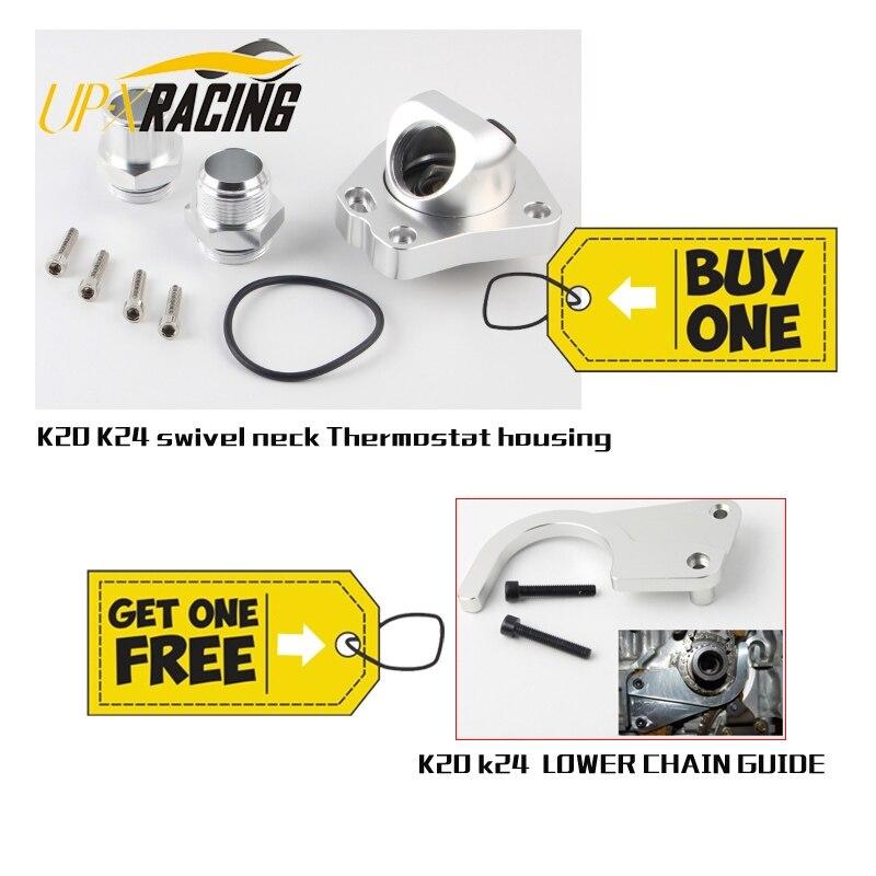 Universal K20 K24 Componentes de refrigeração pescoço giratório Carcaças Do Termostato do motor do carro