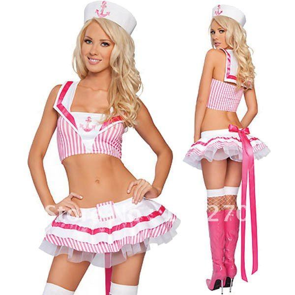HOT sale! lovely pink sailor uniform RL1174