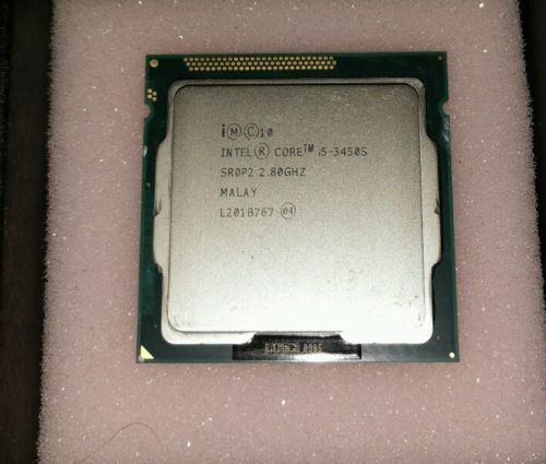Intel Core i5 3450S 2.80GHz Quad Core 6M Socket 1155 CPU Processor-in CPUs from Computer & Office    1