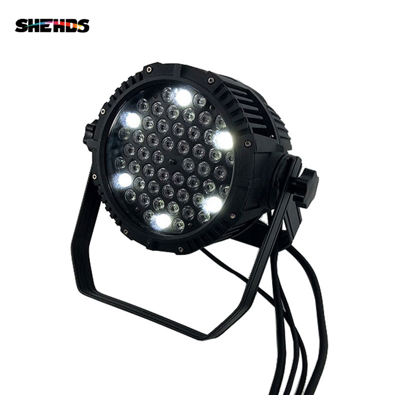 10pcs Waterproof LED Par 54x3W RGBW Stage Effect DMX512 Lighting Good For Outdoor Swimming Pool And DJ Disco Party Bar Clubs free shipping 54x3w flat led par light rgbw best quality par can dmx512 disco dj home party ktv led stage effect projector