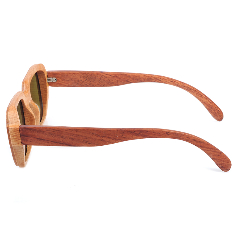 Bamboo Square Polarised Sunglasses 5