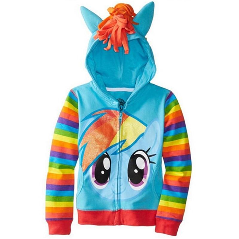 Girls Sweatshirts Hoodies Children Clothing Autumn And Winter Baby girl Thick Cotton Tops Kids Cute Cartoon Rabbit Hooded Coat 13