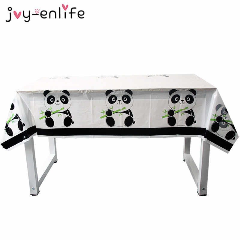 JOY-ENLIFE Panda Theme Party สำหรับเด็ก Party Baby Shower Birthday Party ตกแต่ง Party Favor Supplies