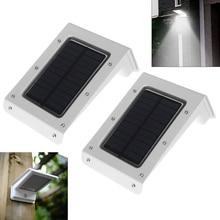 2pcs New Brand LED Solar Light,Waterproof 20 LEDs Energy Saving Security Wall Lamp with Motion Sensor PIR for Garden/ Street