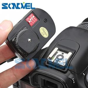 Image 5 - WanSen PT 16GY 16 Kanal Kablosuz Flaş Tetik Verici SETI 3 Alıcıları Canon Nikon Pentax Olympus için Yongnuo Sigma