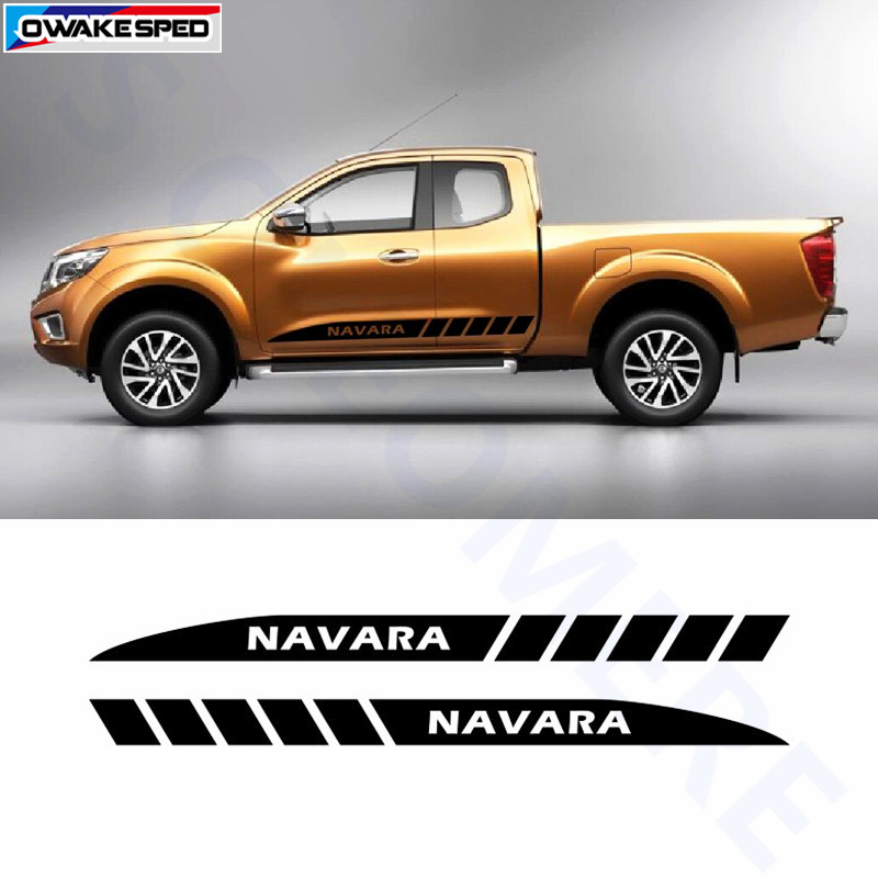 For Nissan Navara NP300 Sport Stripes Car Styling Door