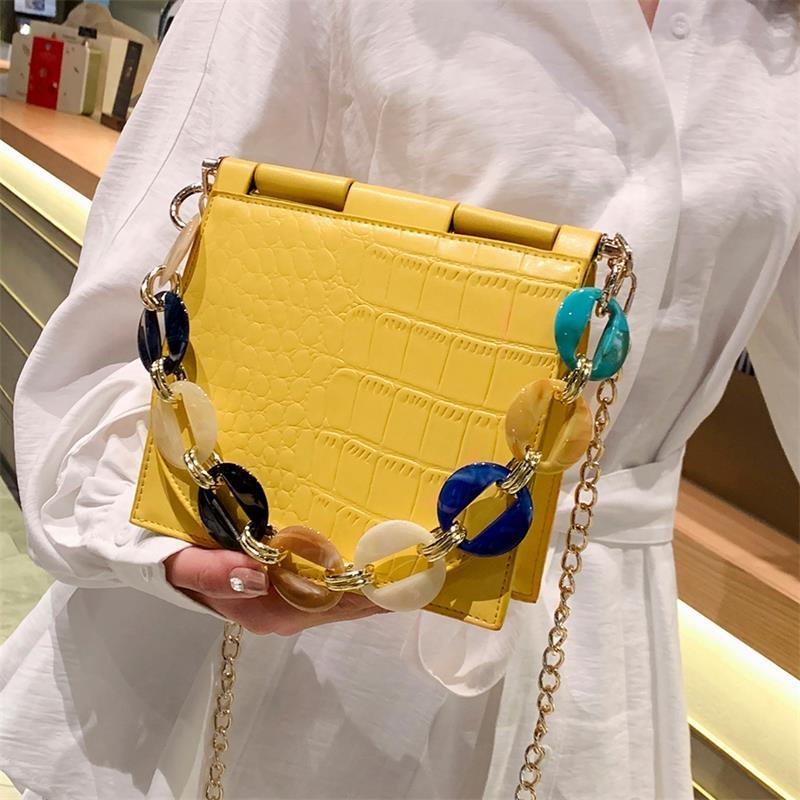 Casual Beach Crossbody Handbag For Women PU Leather Tote Bag
